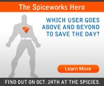 2008 Spiceworks Hero Award