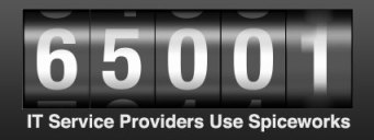 65000 IT Service Providers Use Spiceworks